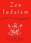 Zen Judaism Book