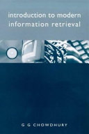 Introduction to Modern Information Retrieval