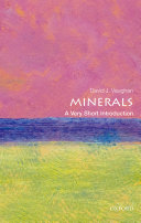 Minerals  A Very Short Introduction