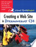 Creating A Web Site In Dreamweaver Cs4