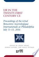 Ur in the Twenty-First Century CE