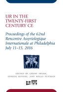 Ur in the Twenty-First Century CE Pdf/ePub eBook