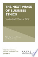 The Next Phase of Business Ethics