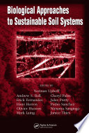 Biological Approaches To Sustainable Soil Systems Book PDF