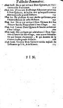 L'histoire de l'ingénieux et redoutable chevalier don Quixote de La Manche