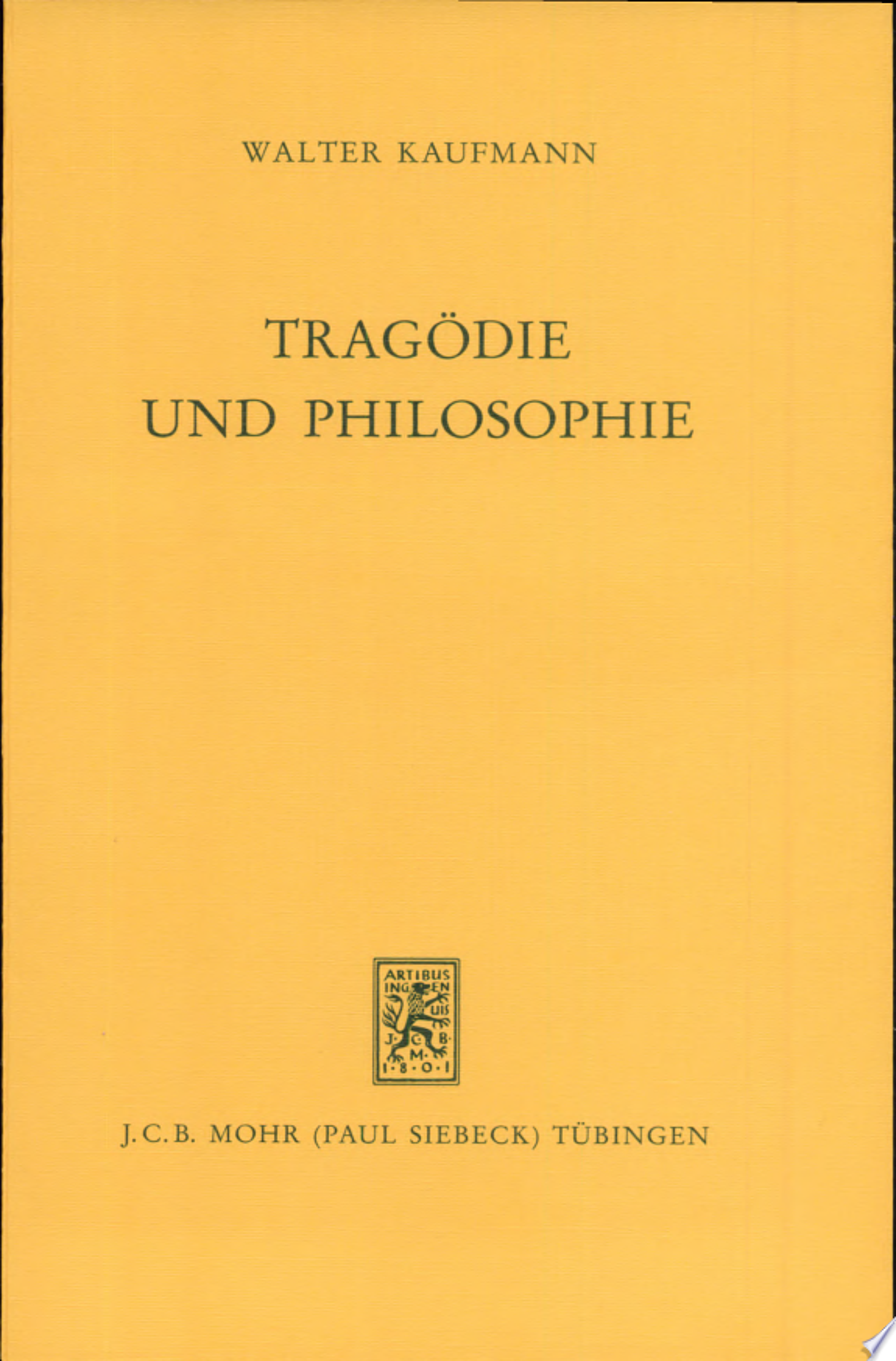 Trag  die und Philosophie