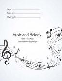 Blank Book Sheet Music