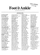 Foot Ankle International Book PDF