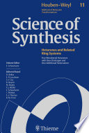 Science of Synthesis  Houben Weyl Methods of Molecular Transformations Vol  11