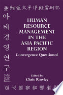 Human Resource Management in the Asia-Pacific Region