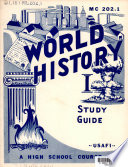 Study Guide for World History I