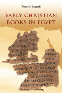 Early Christian Books in Egypt