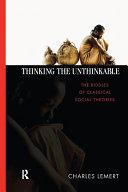 Thinking the Unthinkable Pdf/ePub eBook