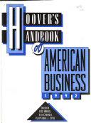 Hoover S Handbook Of American Business 1992 Book PDF