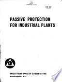 Passive Protection for Industrial Plants