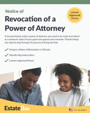 Revocation of a Power of Attorney Kit