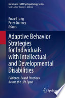 Adaptive Behavior Strategies for Individuals with Intellectual and Developmental Disabilities