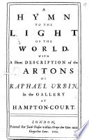 A Hymn to the Light of the World Book