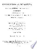 Encyclopædia Metropolitana; Or, Universal Dictionary of Knowledge ...