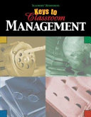 Keys to Classroom Management Book