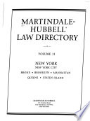 The Martindale-Hubbell Law Directory  , Bände 1-5;Bände 7-9;Band 11;Band 13;Bände 15-17
