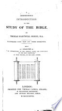 A Compendious Introduction To The Study Of The Bible