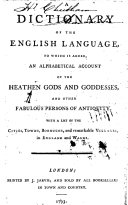 A Dictionary of the English Language