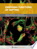 Emerging Functions of Septins Book