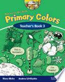 American English Primary Colors 3 Teacher's Book