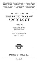An Outline of the Principles of Sociology