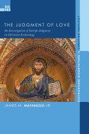The Judgment of Love Pdf/ePub eBook