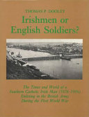 Irishmen Or English Soldiers