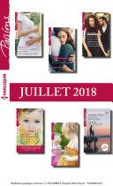 12 romans Passions + 1 gratuit (no731 à 736 - Juillet 2018)