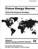 Future Energy Sources  Western Europe and North America Book