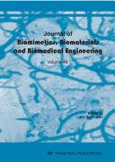 Journal of Biomimetics  Biomaterials and Biomedical Engineering Vol 48