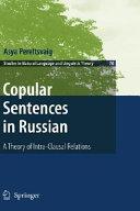 Copular Sentences in Russian