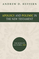 Apology and Polemic in the New Testament ebook