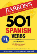 Cover of 501 Spanish Verbs
