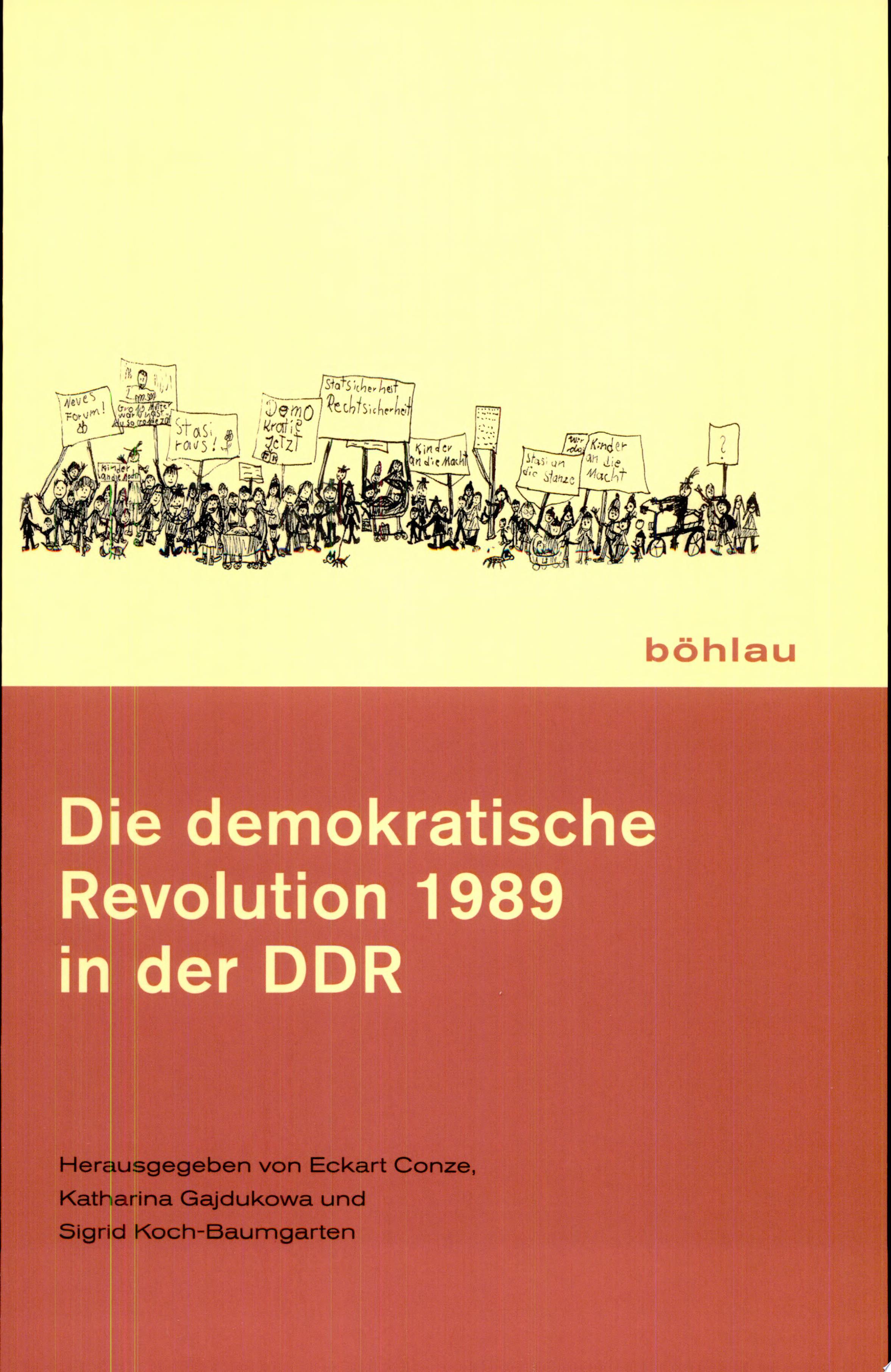 Die demokratische Revolution 1989 in der DDR
