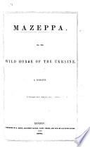 Mazeppa Book