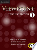 Viewpoint Level 1 Teacher S Edition With Assessment Audio Cd Cd Rom Book