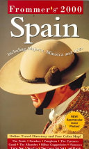 Frommer s Spain 2000 Book PDF