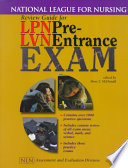 Review Guide for LPN/LVN Pre-entrance Exam