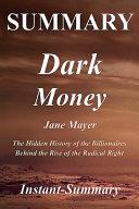 Dark Money Summary Book