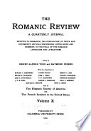 The Romanic Review