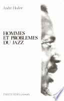 Hommes et problèmes du jazz Pdf/ePub eBook