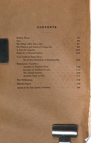The+Yale+Literary+Magazine