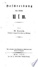 Beschreibung der stadt Ulm