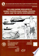 Living Marine Resources of Kuwait, Eastern Saudi Arabia, Bahrain, Qatar, and the United Arab Emirates