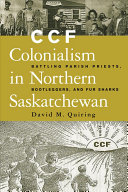 Pdf CCF Colonialism in Northern Saskatchewan